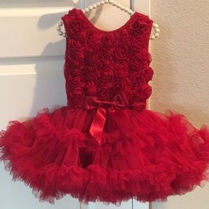 Baby Girl Red 🌹 Dress (Popatu)